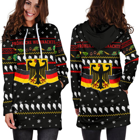 Image of Germany Christmas Hoodie Dress TH5