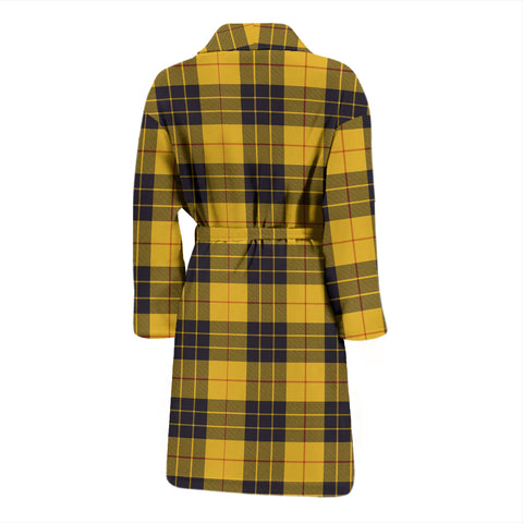 Macleod Of Lewis Ancient Bathrobe - Men Tartan Plaid Bathrobe Universal Fit
