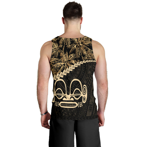 Image of Marquesas Islands Men's Tank Top Golden Coconut | Love The World
