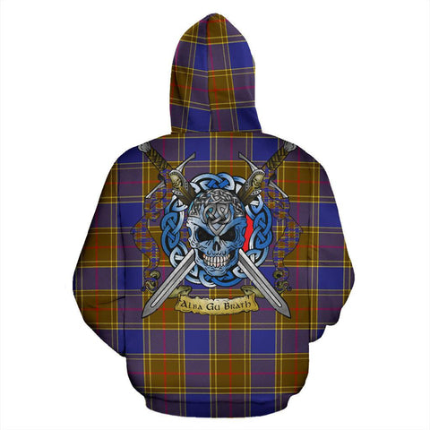 Balfour Modern Tartan Hoodie Celtic Scottish Warrior A79 | Over 500 Tartans | Clothing | Apaprel
