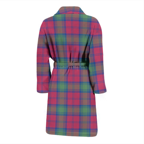 Image of Lindsay Ancient Bathrobe - Men Tartan Plaid Bathrobe Universal Fit