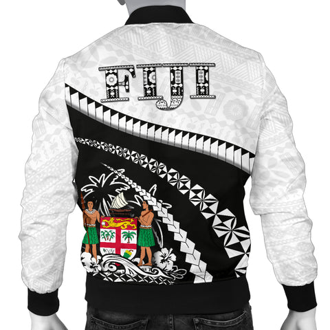 Fiji Men Bomber Jacket - Road to Hometown K4