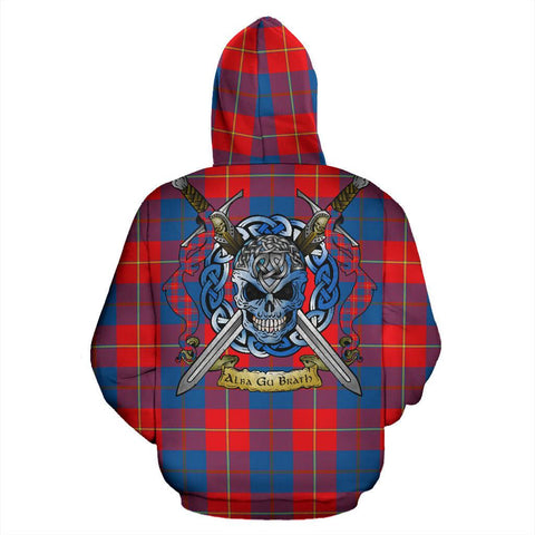 Galloway Red Tartan Hoodie Celtic Scottish Warrior A79 | Over 500 Tartans | Clothing | Apaprel