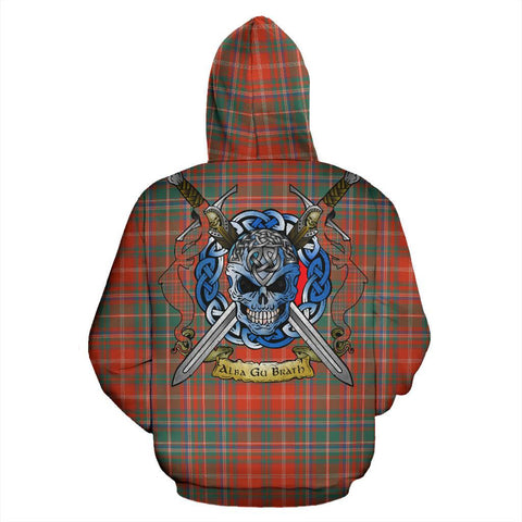 MacDougall Ancient Tartan Hoodie Celtic Scottish Warrior A79 | Over 500 Tartans | Clothing | Apaprel