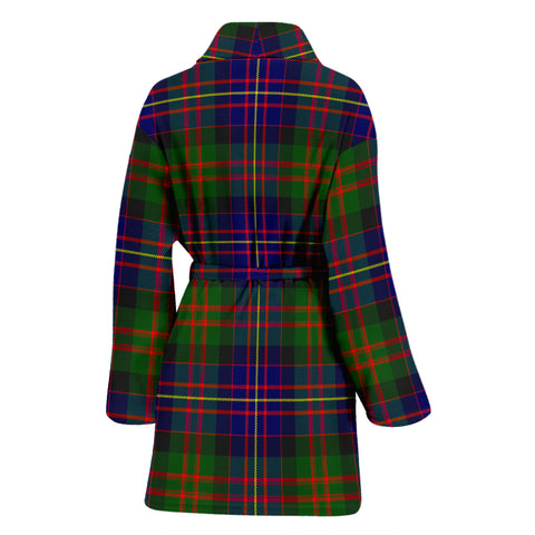 Cameron Of Erracht Modern Bathrobe - Women Tartan Plaid Bathrobe Universal Fit