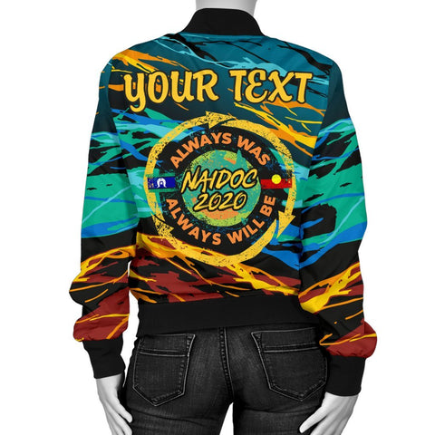 Image of Australia Women's Bomber Jacket - Naidoc Always Was, Always Will Be - BN17