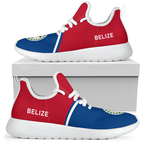 Image of Belize Mesh Knit Sneakers - Curve Version - BN01