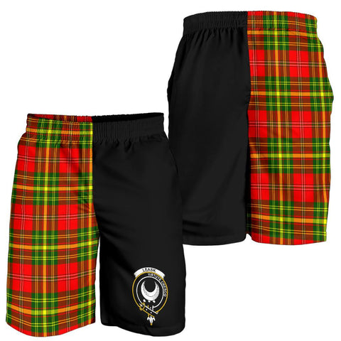 Leask Tartan Men Shorts Half Of Me K7