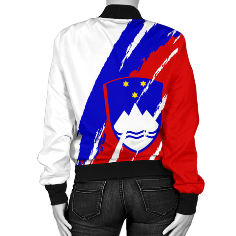 Image of Slovenia Bomber Jacket Women K5