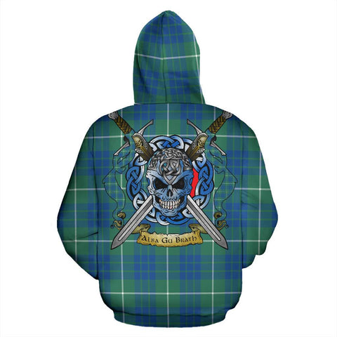 Hamilton Hunting Ancient Tartan Hoodie Celtic Scottish Warrior A79 | Over 500 Tartans | Clothing | Apaprel