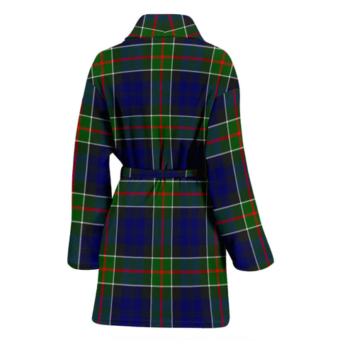 Image of Colquhoun Modern Bathrobe - Women Tartan Plaid Bathrobe Universal Fit