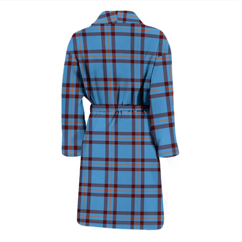 Elliot Ancient Bathrobe - Men Tartan Plaid Bathrobe Universal Fit