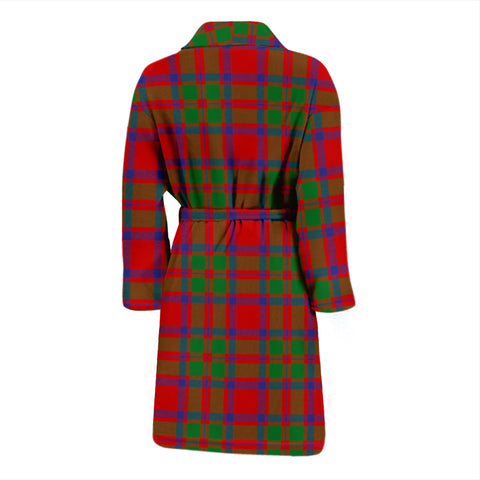 Image of Mackintosh Modern Tartan Men's Bathrobe - Bn04