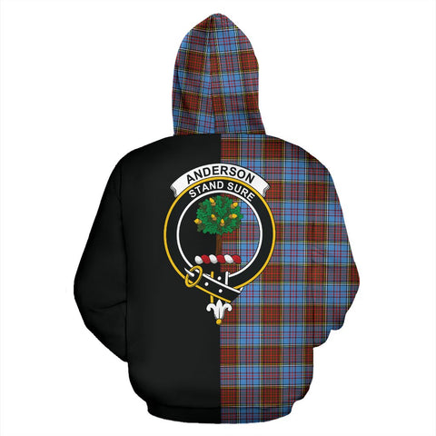 Image of Anderson Modern Tartan Hoodie Half Of Me TH8