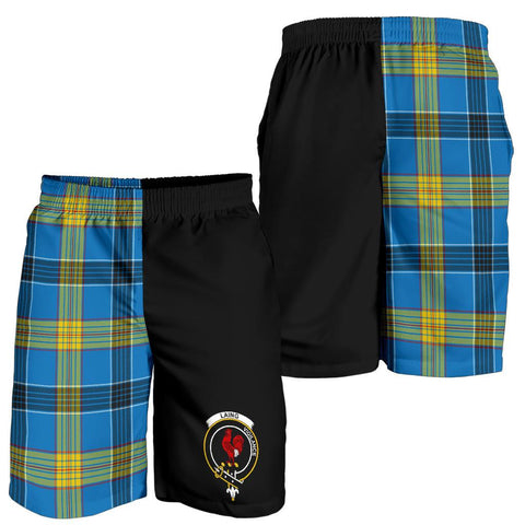 Image of Laing Tartan Men Shorts Half Of Me K7