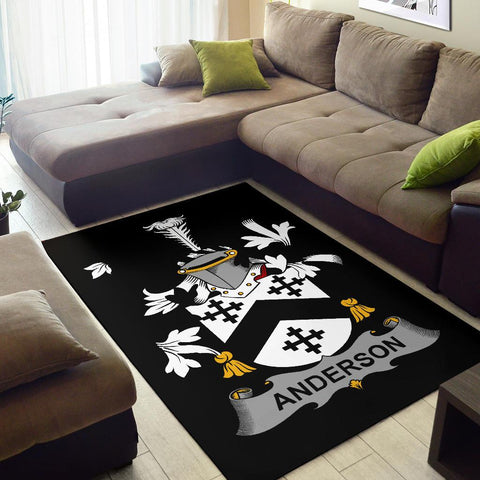 Anderson Ireland Area Rug - Irish Family Crest | Over 1400 Crests | Home Decor | Home Set
