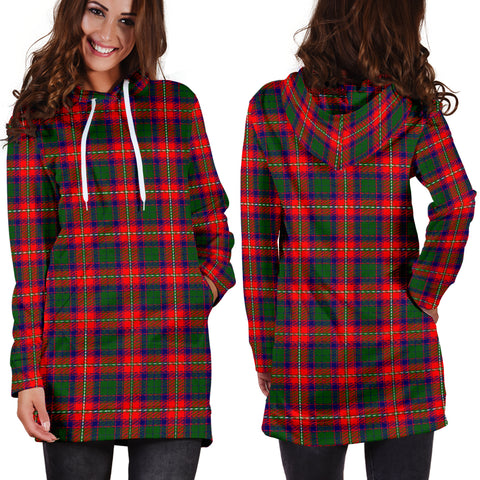 Roxburgh District Tartan Hoodie Dress HJ4