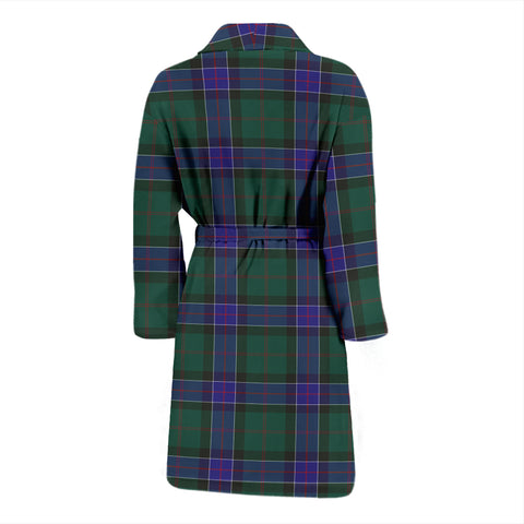 Sinclair Hunting Modern Tartan Men's Bathrobe - BN04