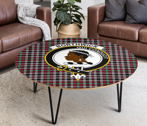 Image of Borthwick Clans Cofee Table BN