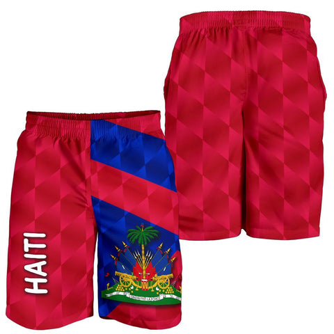 Haiti Men Shorts Sporty Style K8