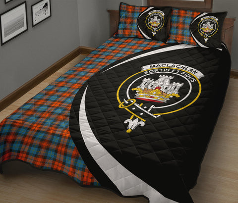 Image of Tartan Quilt Bed Set Circle
