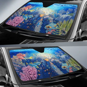 Ocean Hawaii Auto Sun Shades J8