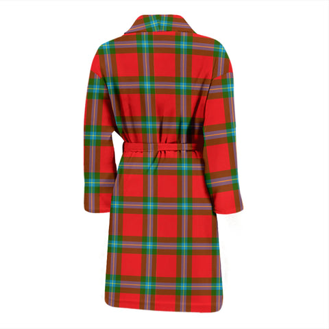 Maclaine Of Loch Buie Bathrobe - Men Tartan Plaid Bathrobe Universal Fit
