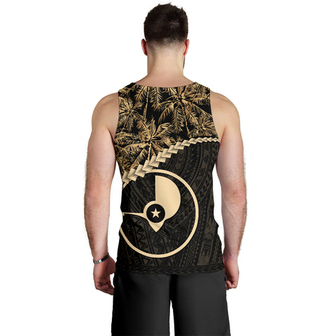 Yap Men's Tank Top Golden Coconut | Love The World