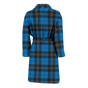 Ramsay Blue Ancient Tartan Men's Bath Robe - BN04