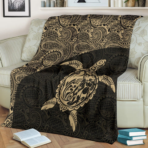 Hawaii Turtle Mermaid Premium Blanket 02 TH90