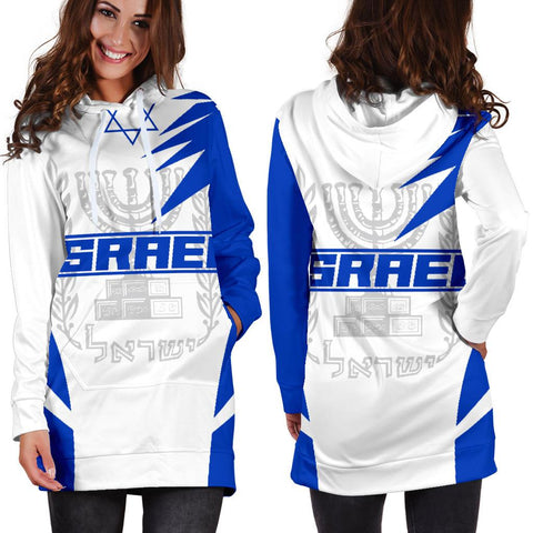 Israel Hoodie Dress Active A10
