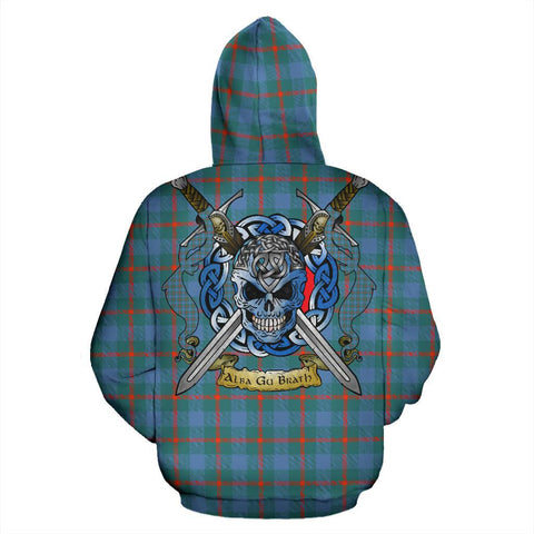 Image of Agnew Ancient Tartan Hoodie Celtic Scottish Warrior A79 | Over 500 Tartans | Clothing | Apaprel