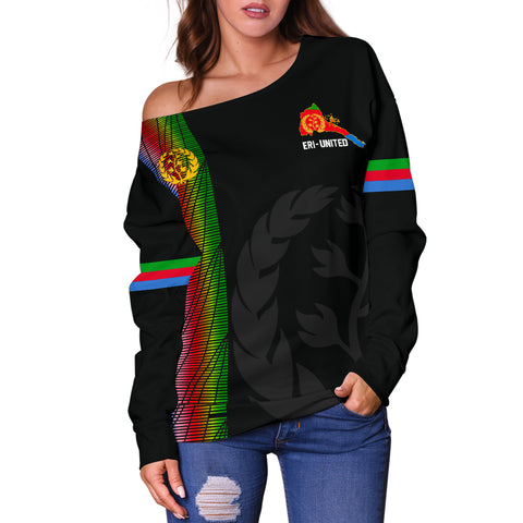 Eritrea Off Shoulder Sweater - Eritrea United A7