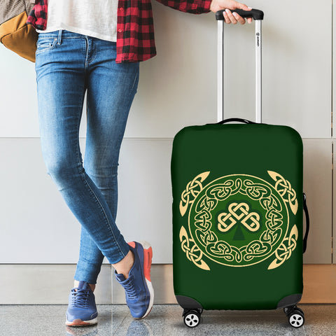 Ireland Luggage Covers Shamrock and Celtic Corner
