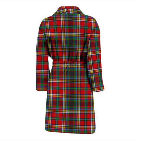 Image of Anderson Of Arbrake Bathrobe - Men Tartan Plaid Bathrobe Universal Fit
