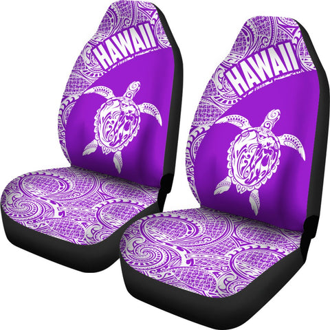Image of Hawaii Tribal Turtle Mermaid Car Seat Covers TH76