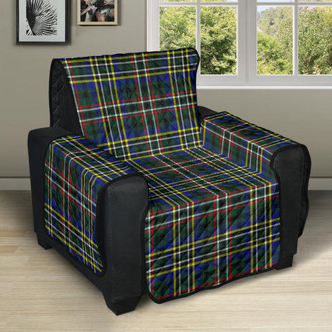 SCOTT GREEN MODERN Tartan Recliner Sofa Protector A9 copy