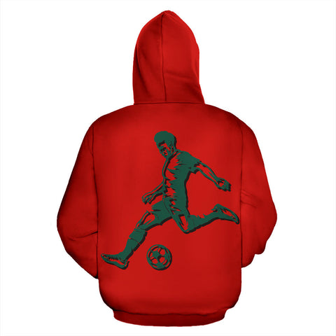 Portugal Sport Zip Up Hoodie - Warrior Style 01 J9