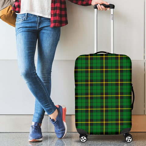 Wallace Hunting - Green Tartan Luggage Cover Hj4 | Love The World