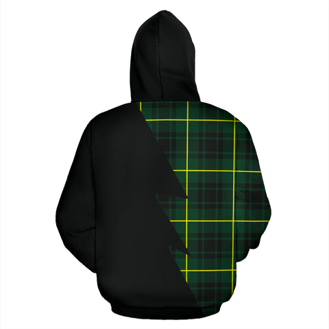 Image of Tartan All Over Hoodie - MacArthur Clans Badge, Scottish Clans, Tartan Scotland, Scot | Love The World