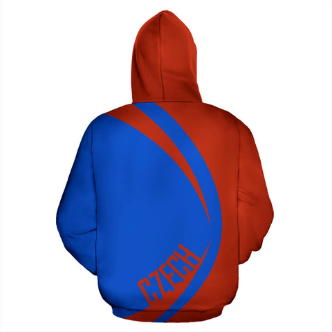 Image of Czech Sport Zip Up Hoodie - Circle Style J9