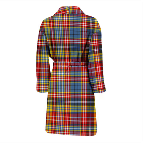 Ogilvie Of Airlie Ancient Bathrobe - Men Tartan Plaid Bathrobe Universal Fit