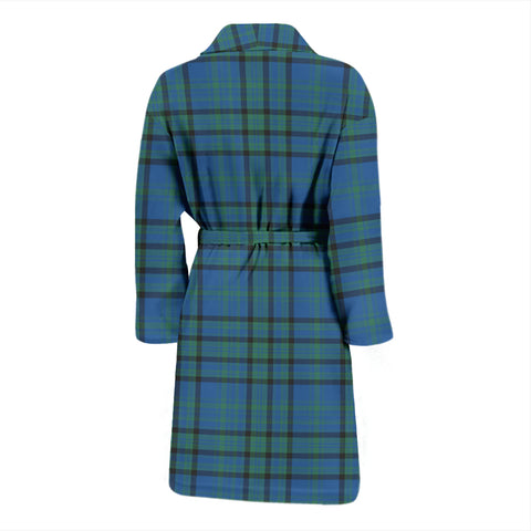 Matheson Hunting Ancient Bathrobe - Men Tartan Plaid Bathrobe Universal Fit