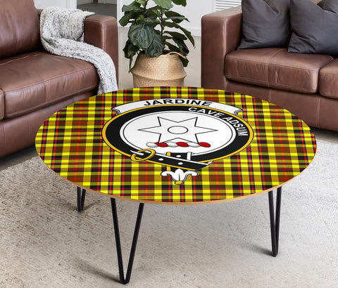 Jardine Clans Tartan Coffee Table - BN