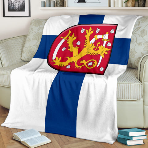 Finland (Suomi) Premium Blanket | High Quality | Home Set‰۬‰۬