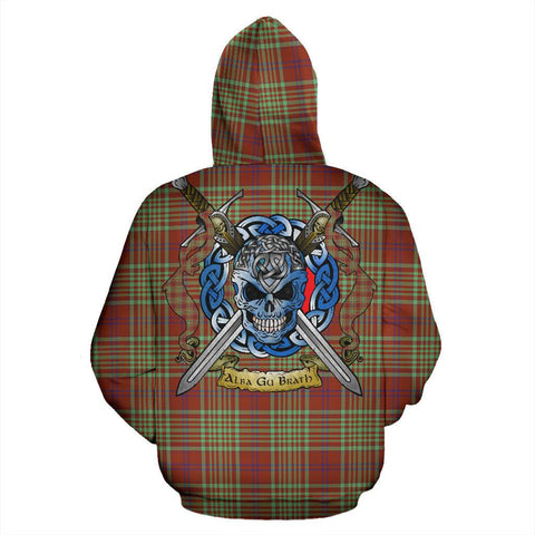 Image of MacGillivray Hunting Ancient Tartan Hoodie Celtic Scottish Warrior A79 | Over 500 Tartans | Clothing | Apaprel