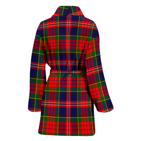 Macpherson Modern Bathrobe - Women Tartan Plaid Bathrobe Universal Fit