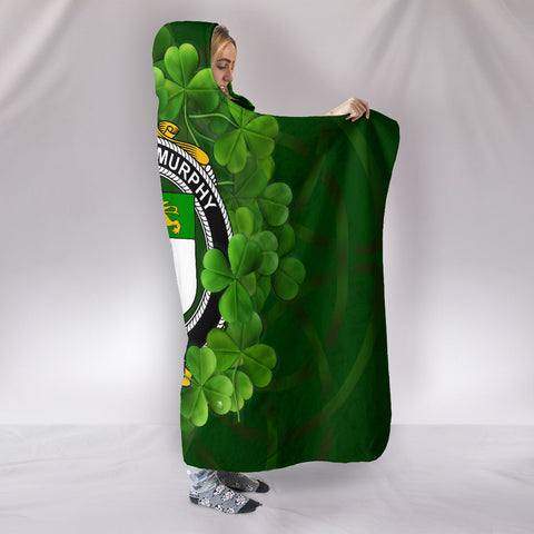 Murphy (O'Morchoe) Ireland Hooded Blanket A9 | Love The World