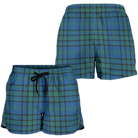 Matheson Hunting Ancient Tartan Shorts For Women Th8