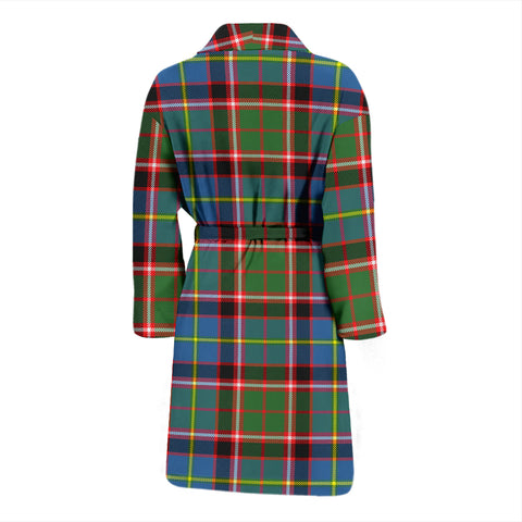 Stirling & Bannockburn District Tartan Men's Bath Robe - BN04
